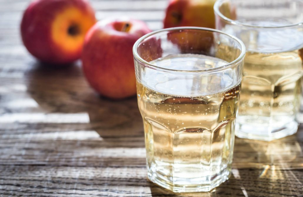hard cider from locally sourced apples