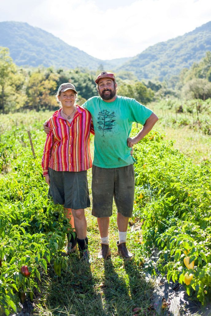 Annie Louise Perkinson and Isaiah Perkinson of Flying Cloud Farm