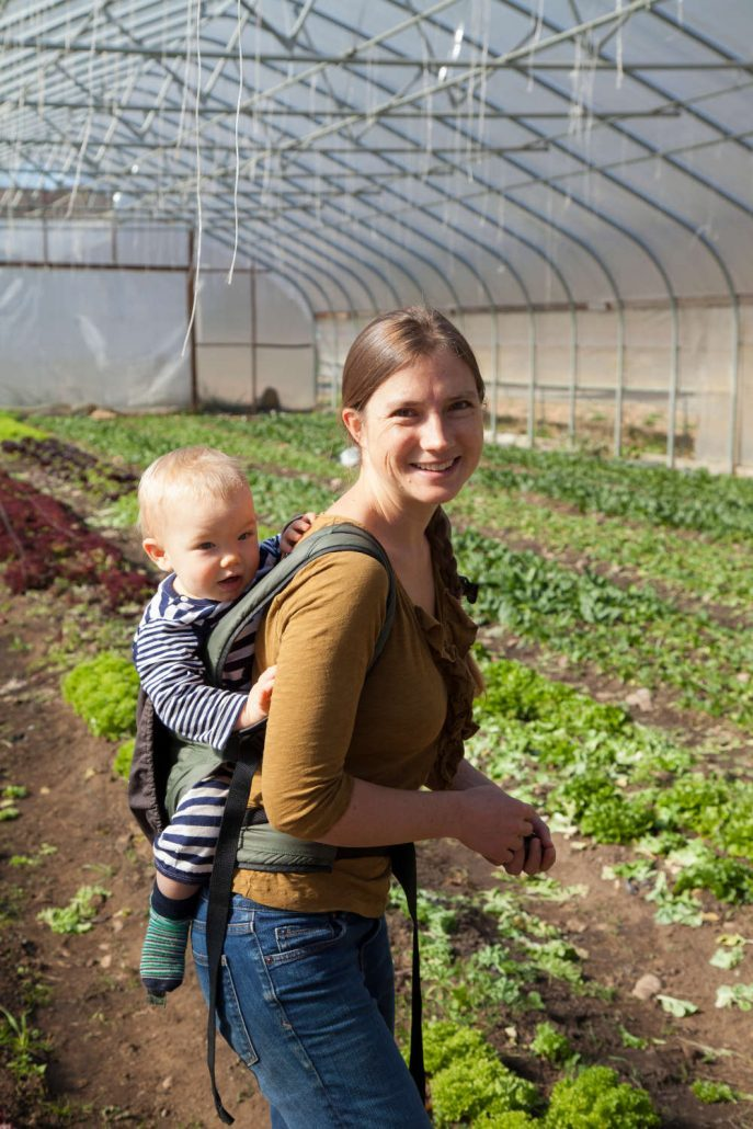 Anna Littman of Ivy Creek Family Farm
