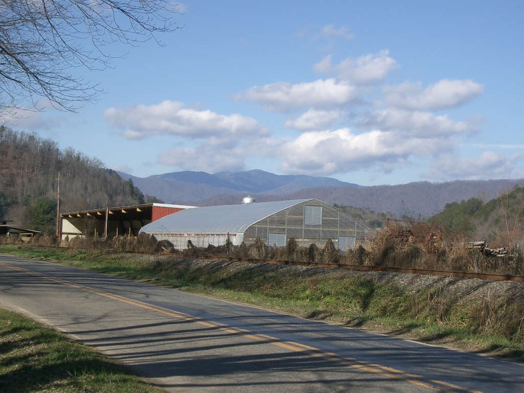Shelton Family Farm in Jackson County, North Carolina