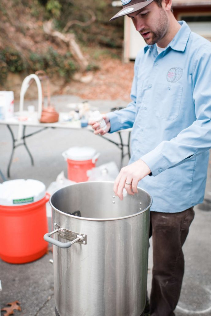Tedd Clevenger, owner of Asheville Brewers Supply.