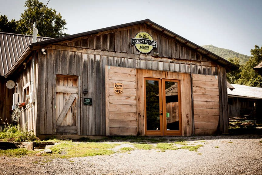 Hickory Nut Gap Farm Store in Fairview, North Carolina