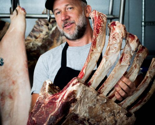 Casey McKissick of Foothills Local Meats