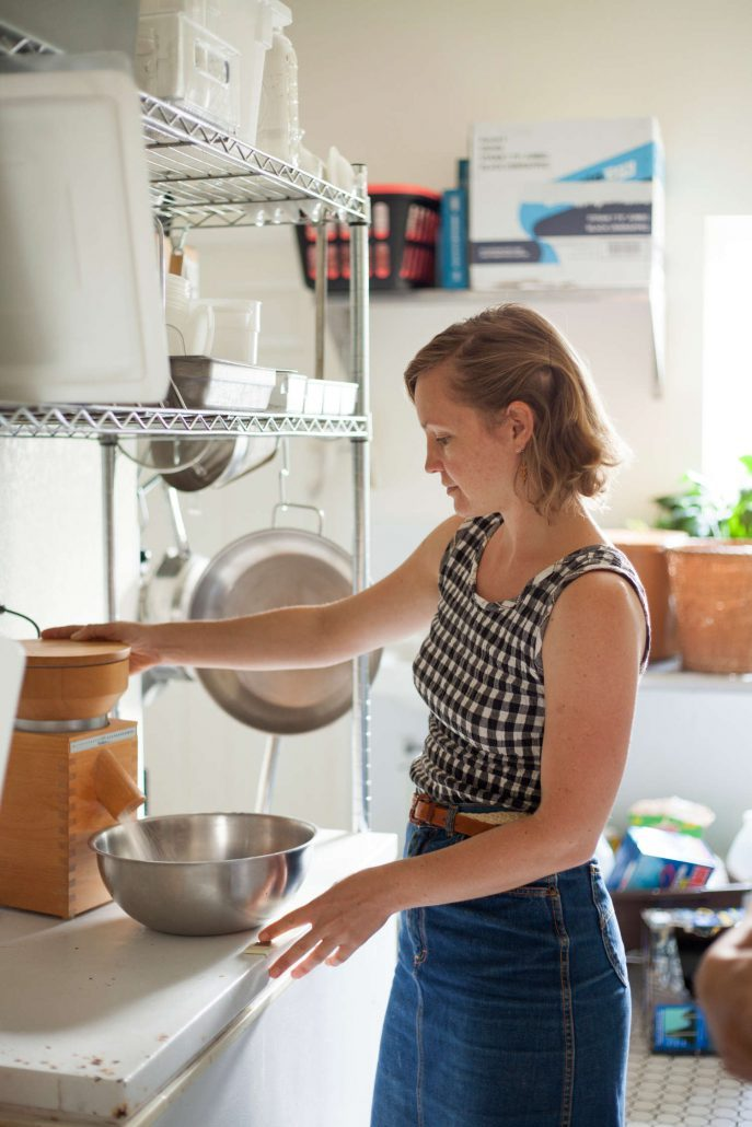 Maia Surdam of OWL Bakery in Asheville