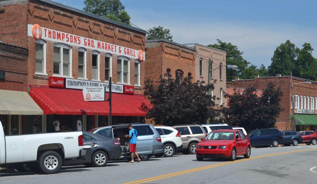 Thompson's Store in Saluda, North Carolina
