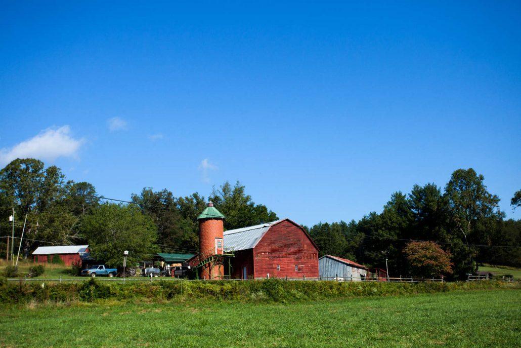 John McEntire's farm in Old Fort, North Carolina