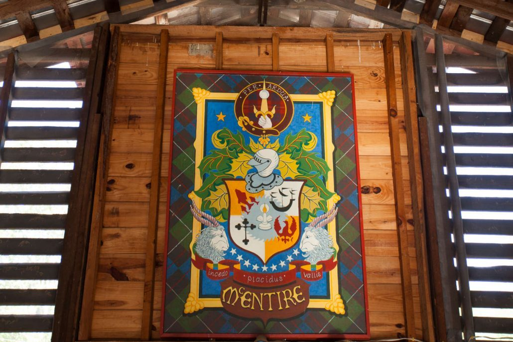 The McEntire family crest