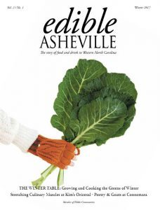 Edible Asheville Winter 2017 cover