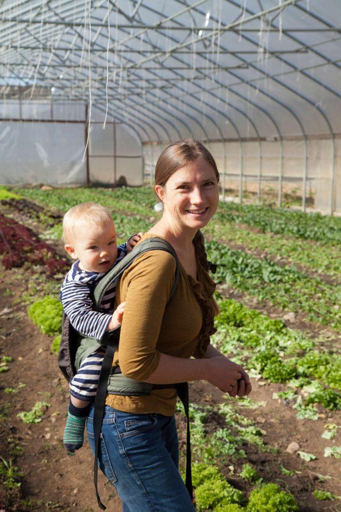 Anna Littman of Ivy Creek Family Farm