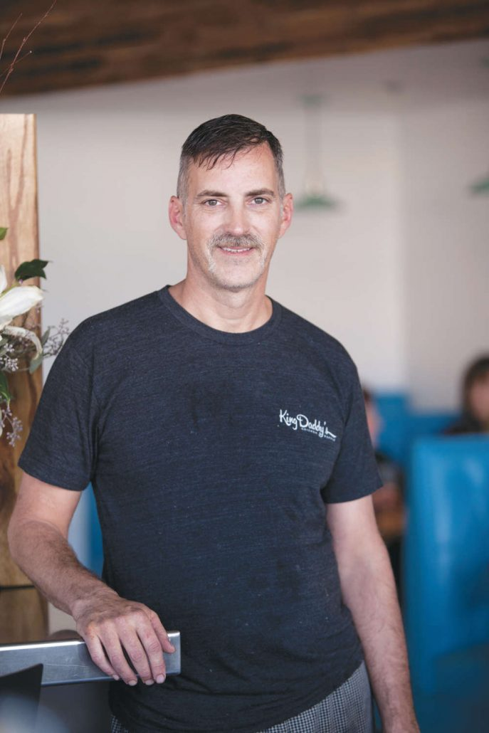 John Stehling, chef and co-owner of Early Girl Eatery and King Daddy Chicken and Waffle