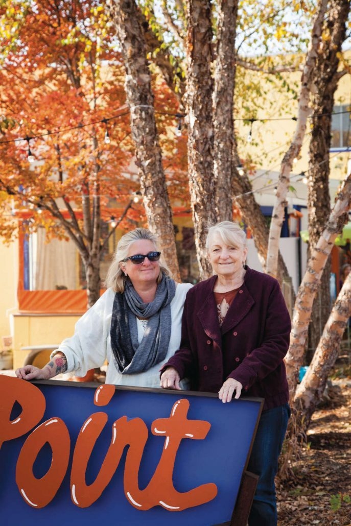 Sunny Point Cafe owners April Moon Harper and Belinda Raab